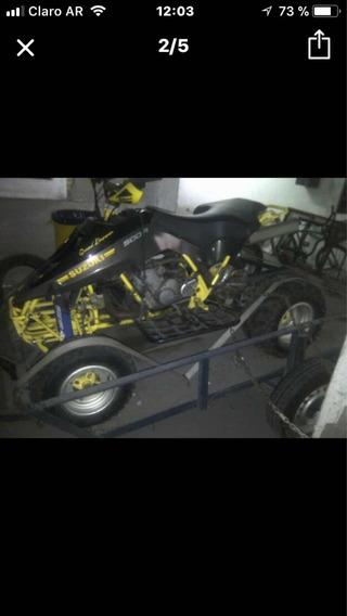 Cuatri Suzuki Lt 500r 2 Tiempos