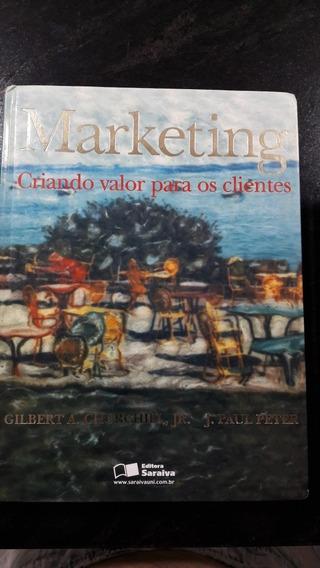 Livro Marketing Criando Valor Para Os Clientes