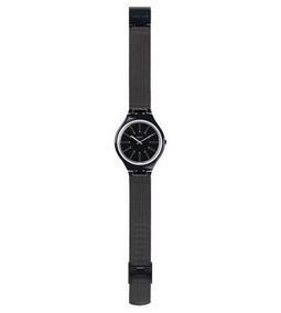 Relógio Swatch Full Blooded Svob100m Metal Preto Original