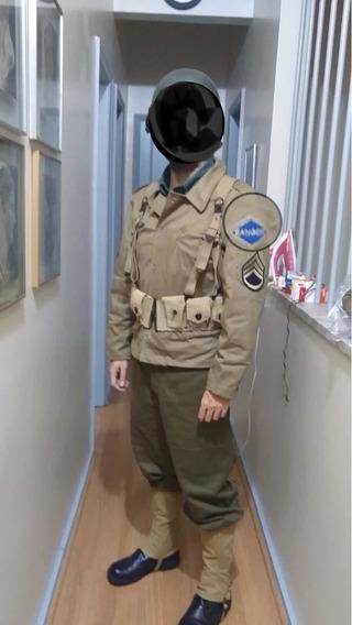 Calça E Gandola Ranger Segunda Guerra Ww2