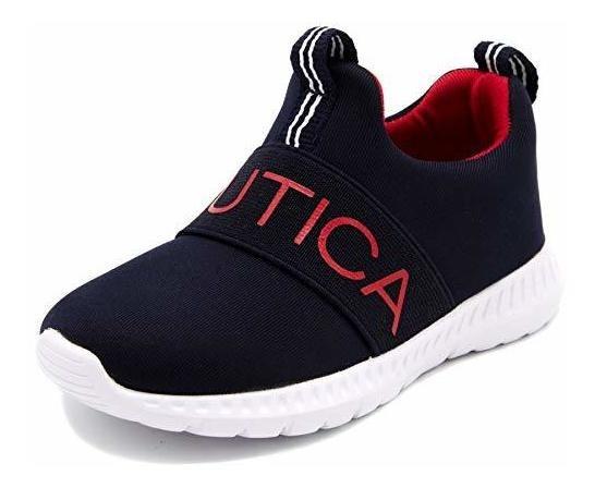 Nautica Kids Boys Fashion Sneaker Zapatillas Deportivas Para