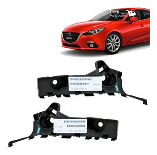 Par Guia Defensa Delantera Mazda 3 2014 2015 2016 Retencion