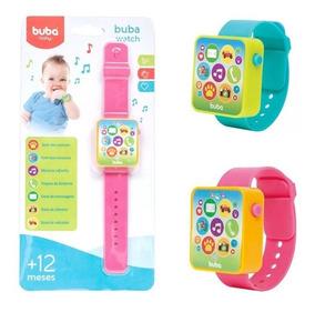 Relógio Musical Infantil Buba Watch Brinquedos Bebês 08552