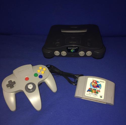 Nintendo 64 Destravado,, 2 Jogos E Analógico 100%