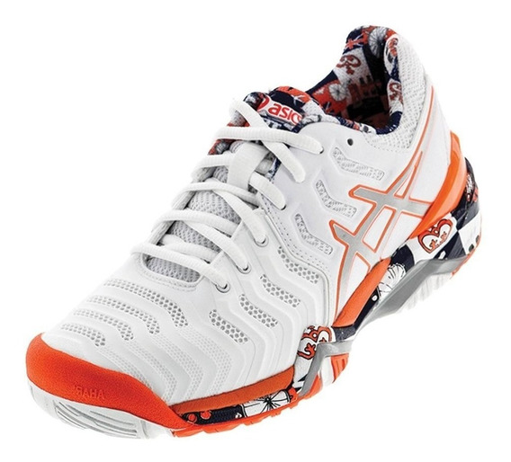 Tênis Asics Gel Resolution 7 Limited Edition London - Fem.