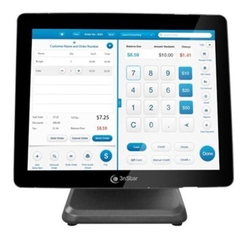 All In One Pos Touch Sreen 3nstar Pte 105w 4gb Ssd 120gb