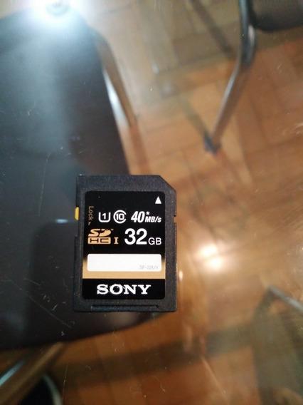 Cartão Sd Sony 32gb Original