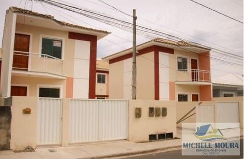 Imagem 1 de 11 de Casa Duplex Para Venda Em Araruama, Boa Perna, 2 Dormitórios, 1 Suíte, 2 Banheiros, 1 Vaga - 142_2-338898