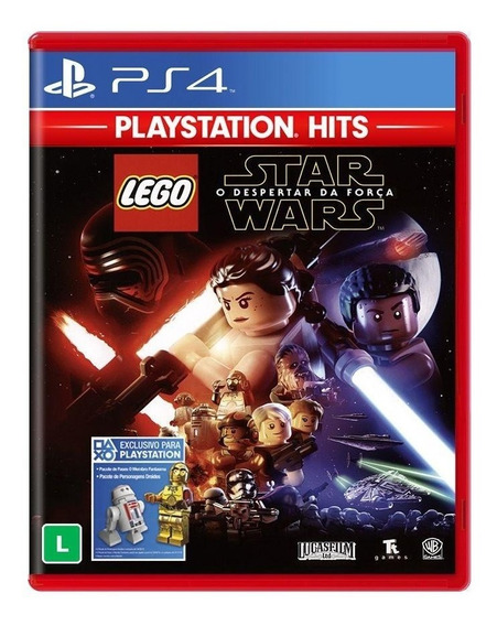 Lego Star Wars O Despertar Da Força Ps4 Mídia Física Lacrado