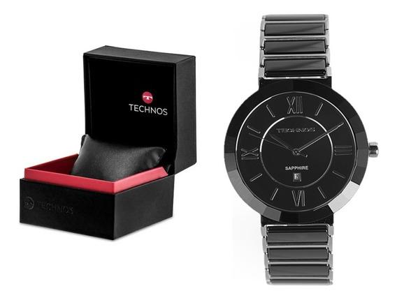 Relógio Technos Elegance Ceramic Safira 2015bx/1p Original