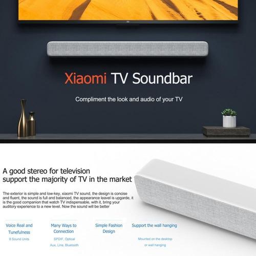 Barra De Sonido Xiaomi Home Theater Bluetooth/sd/tvaudio Msi
