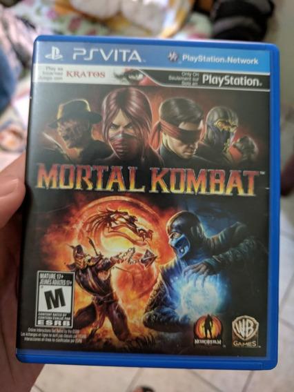 2 Jogo Ps Vita Mortal Kombat+street Fighter Vs Tekken Psvita