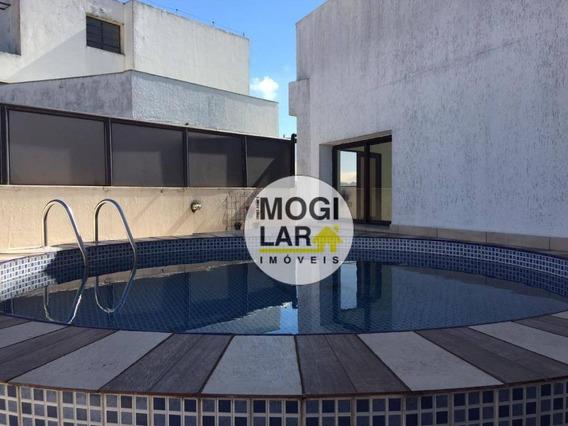 Cobertura Com 3 Dormitórios À Venda, 275 M² Por R$ 1.200.000 - Vila Lavínia - Mogi Das Cruzes/sp - Co0007