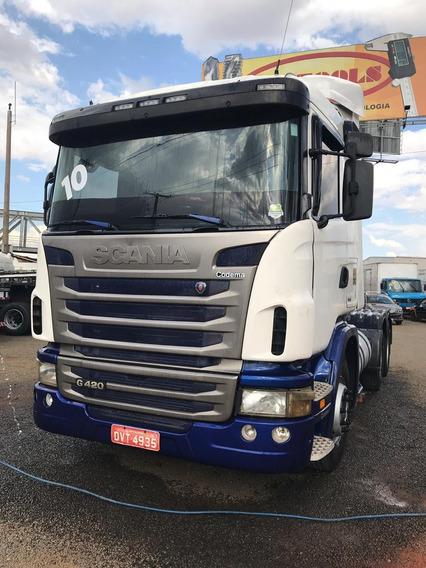 Scania G420 Com Retarder 6x4 Ano 2010 Bug Leve -quitada