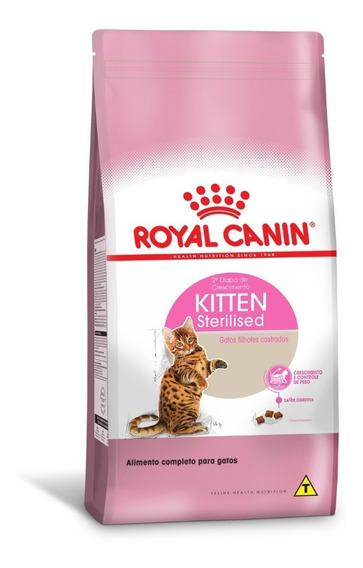 Ração Royal Canin Kitten Sterilised Castrados 1,5 Kg