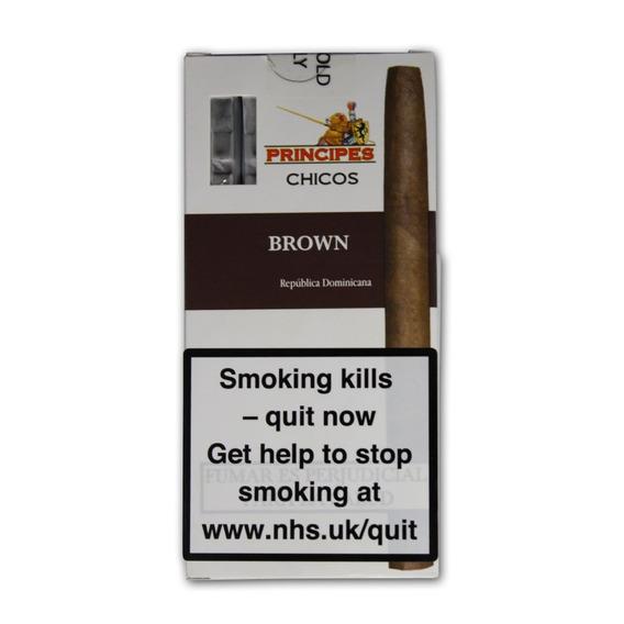 Principes Coronas Chocolate Cigarros Habanos Puros Puro Ciga