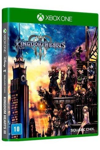 Jogo Kingdom Hearts Iii Xbox One Midia Física Promoção