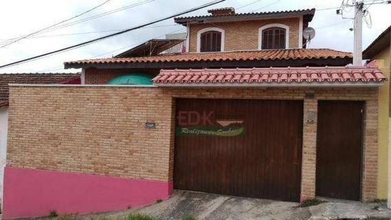 Sobrado Com 4 Dormitórios À Venda, 227 M² Por R$ 642.000,00 - Centro - Santa Branca/sp - So0643