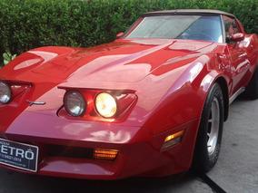 Corvette Stingray 1981 Garagem Retrô Garagem Retrô