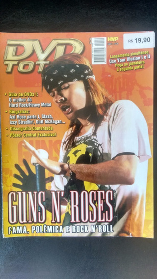 Revistas Guns N Roses Dvd Total Use Your Ilusion #9 E #10
