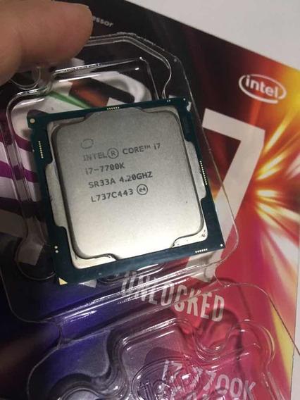 Processador I7 7700k Com Delid Do Emersonbr