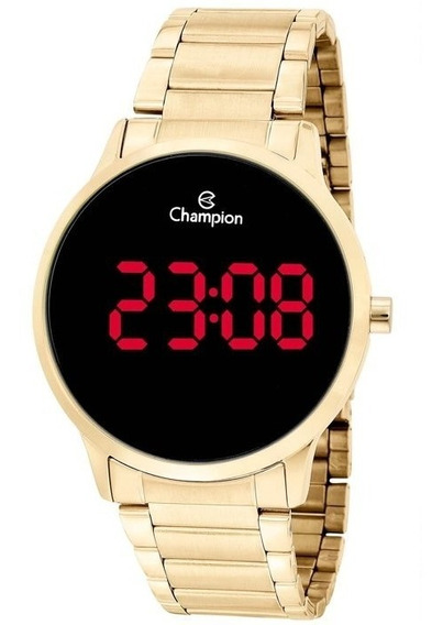 Relógio Digital Feminino Champion Dourado Ch40142h