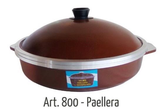 Olla Horno Tipo Essen Paellera Eterna 800 Marron Aluminio