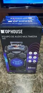 Parlante Bt Top House W6e Equipo De Audio Multimedia