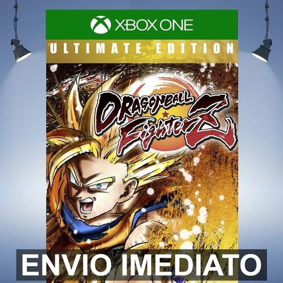 Dragon Ball Fighterz Ultimate - Xbox One Código 25 Dígitos