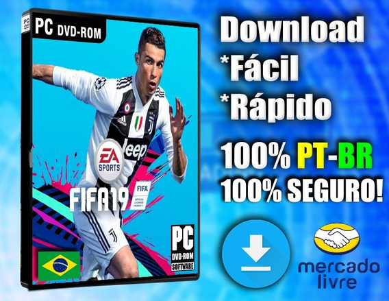 Fifa 19 Pc Completo 100% Dublado Pt-br! Midia Digital