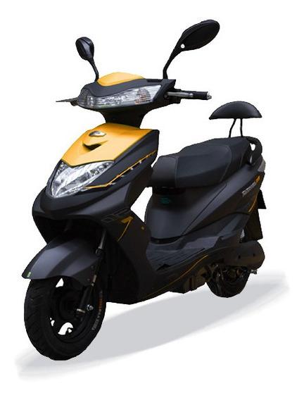 Moto Electrica Inteligent Aima Bosch S3 Naranja Envio Gratis