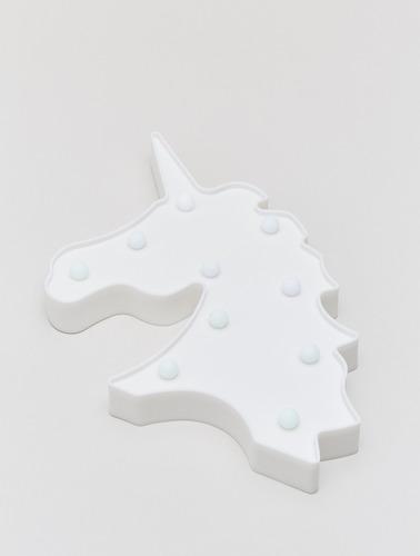 Imagen 1 de 5 de Lámpara Led Unicornio Multicolor