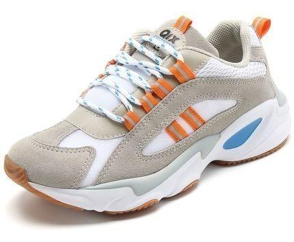 Tênis Chunky Sneaker Feminino Flow Qix Original Promoção