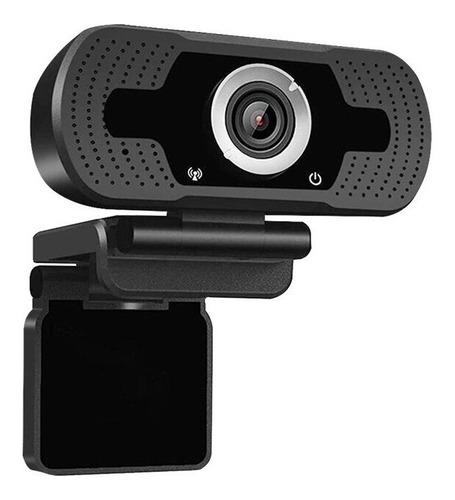 Imagen 1 de 2 de Webcam Full Hd 1080p Usb + Tripode