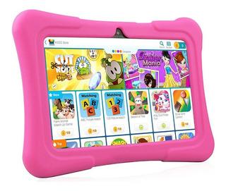 Tablet Para Niños/niñas 7 Android 6.0 - Azul, Rosa Y Naranja