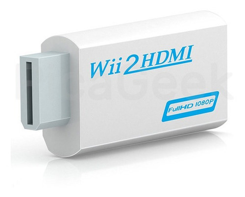 Adaptador Nintendo Wii A Hdmi + Salida Audio 3.5mm Full Hd