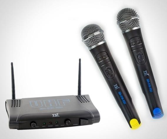 Microfone S/ Fio De Mão Tsi Ms215-uhf