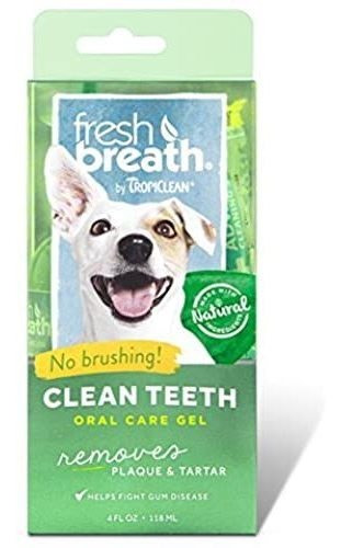 Tropiclean Fresh Breath Placa Removedor De Dientes Limpios P