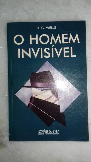 Livro O Homem Invisível - H. G. Wells - Frete R$ 10,00 (h)