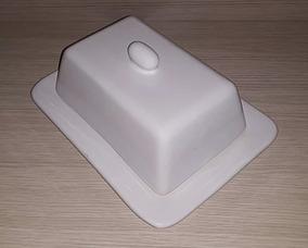 Manteigueira Retangular Em Ceramica Consulte Outras Cores