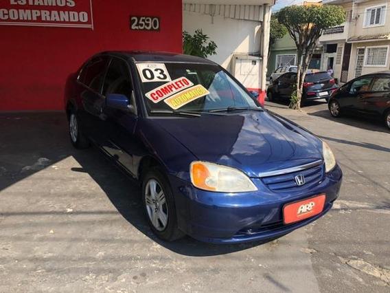 Honda Civic Lx 1.7 Automatico 2003