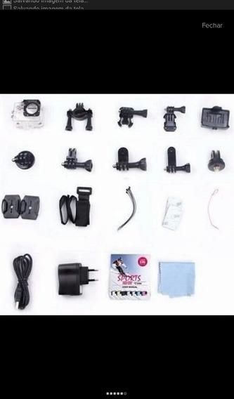 Câmera Go Pro Aprova D Água + Frete Grátis + Brinde