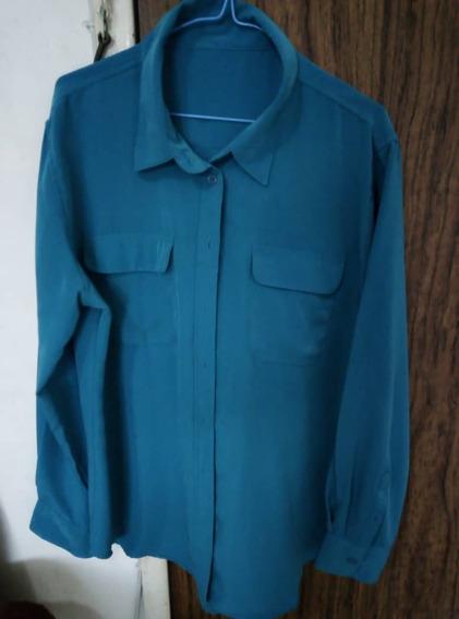Camisa Para Dama Talla Xl Color Turquesa