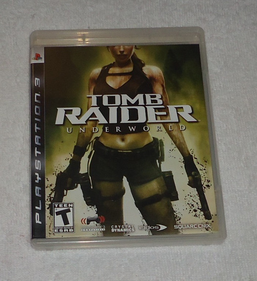 Tomb Raider Underworld Ps3 ** Frete Gratis Leia