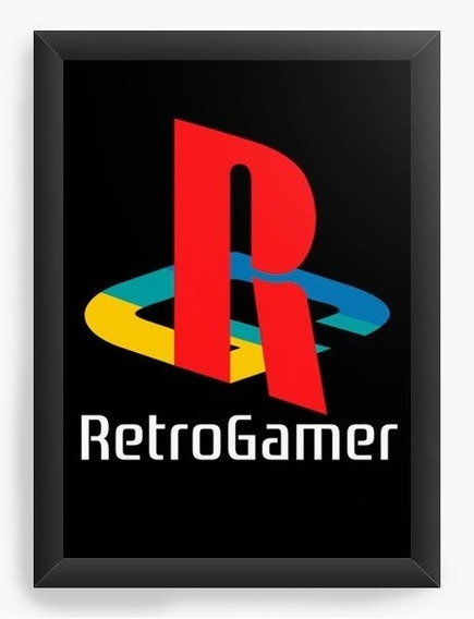 Quadro Decorativo Geekz Retro Game