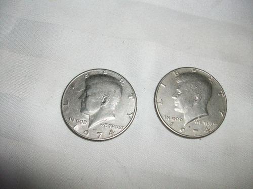 Moneda Lote Antiguo Coleccion/usa Descontinuado 1974