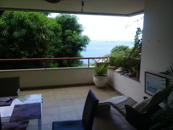 Apartamento 2 Quartos Suítes Com Uma Belissima Vista Para O Mar 145m2 Na Barra - Lit997 - 33343654