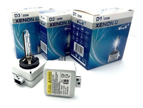 Lâmpada Xenon Reposição D1r 5500k Original Ray X Hid