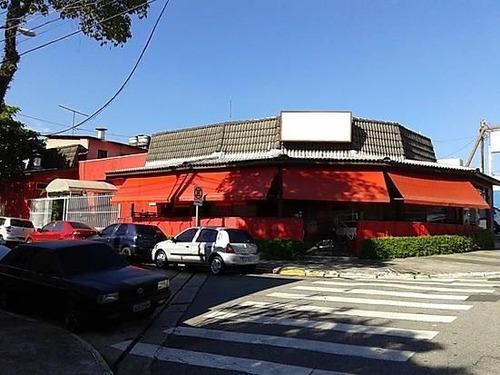 Salão À Venda, 308 M² - Jardim Hollywood - São Bernardo Do Campo/sp - Sl1406
