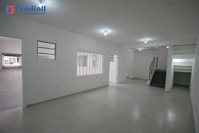 Ótimo Salão Para Alugar, 355 M² Na Lapa - Sl0054